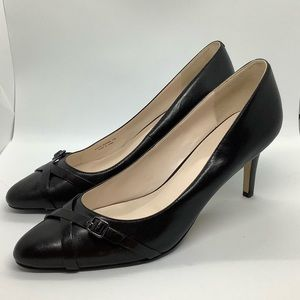COLE HAAN GRAND.OS LEATHER PUMP